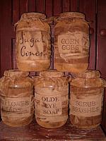 jumbo grubby pantry jars