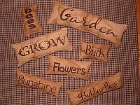garden pillow tuck set