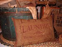 heirloom laundry pillow