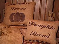 pumpkin bread pillow tucks
