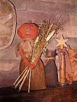 Prudence pumpkin doll