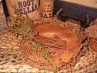 round pantry cake