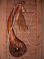 Long neck gourd lantern
