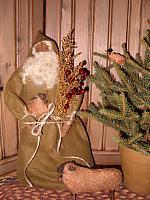 Santa and his sheep