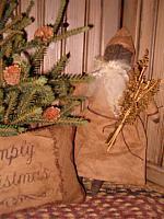 primitive black Santa