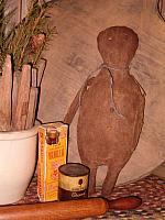 Gilbert the gingerbread man