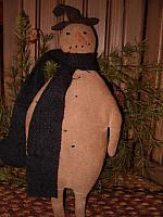 Tattered Tom the snowman