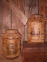 Jumbo Santa Jars