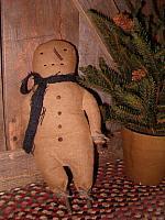 J Frost the snowman