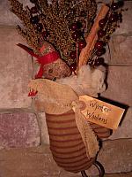 stocking mouse ornie