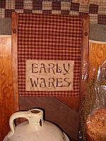 small early wares table runner