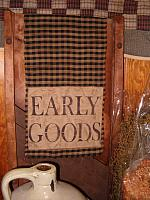 small early goods table runner