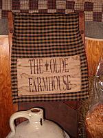 the olde farmhouse table runner