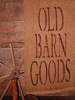 old barn goods towel or pillow