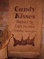 Candy Kisses towel or pillow