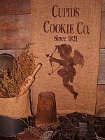 Cupid's cookie co towel