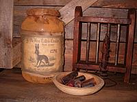 Ye Olde Hare Tallow Candle Co jumbo jar