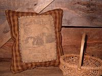 #1709 The Easter Bunny Basket Co pillow