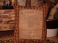 The Jonesville Potters pillow