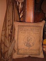 Miss Campbell's Prairie Bonnets pillow