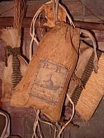 skinny patched bunny sacks