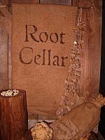root cellar towel or pillow