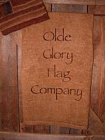 #1784 Olde Glory Flag Co towel or pillow