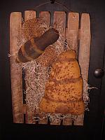 Bee skep lath hanger