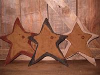 #1820 Set of three Americana stars