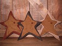 #1820 Set of three Americana stars